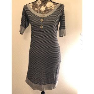 EUC THEORY 1/4 sleeve dress